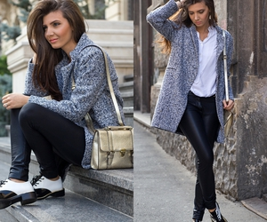 look, outfit, and larisa costea image