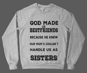 sisters, sweater, and friends image