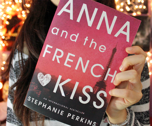 book, lights, and anna and the french kiss image