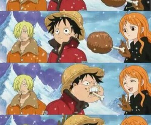 meat, one piece, and nami image