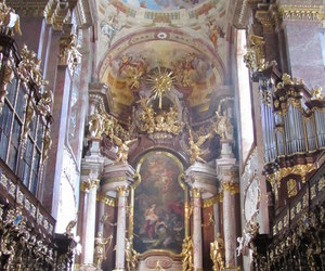 architecture, church, and baroque image