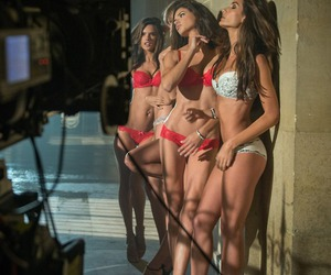 Adriana Lima, alessandra ambrosio, and brazilian image