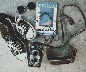 hipster, indie, and book image