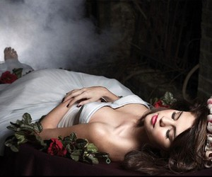 beauty, selena gomez, and sleeping beauty image