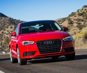 audi, cool, and red car image