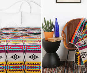 american indian, bed, and cactus image