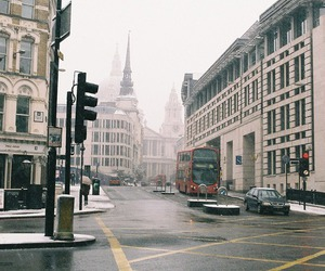 city, street, and london image