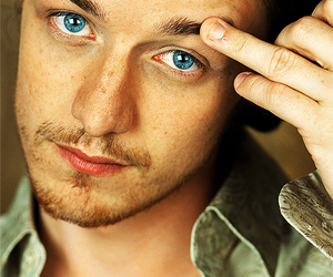 james mcavoy and blue image