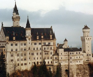 castle, vintage, and germany image