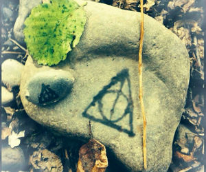 deathly hallows, dumbledore, and green image