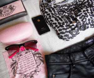 pink, iphone, and juicy couture image