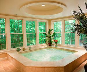 luxury, bathroom, and house image