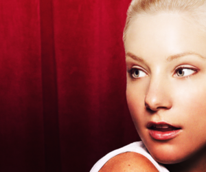glee and heather morris image