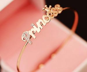 princess, gold, and ring image