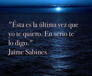 frases, frases en español, and jaime sabines image
