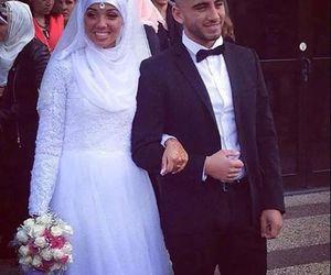 wedding, hlel, and couple image