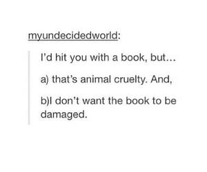 animal, books, and funny image