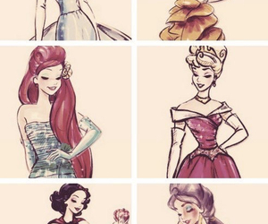princess, disney, and ariel image