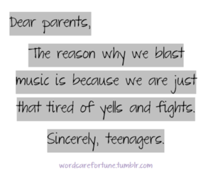 music, parents, and quote image