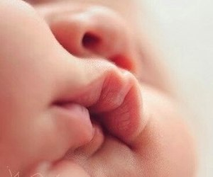baby, kids, and lips image