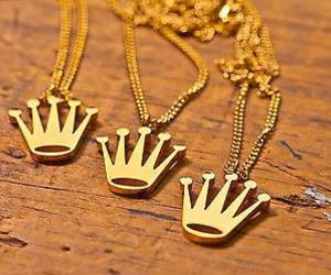 crown, crowns, and gold image