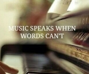 music, words, and can't image