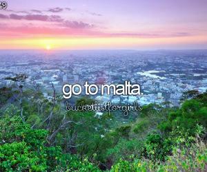 malta, travel, and bucketlist image
