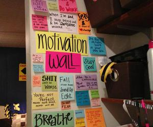 motivation and wall image