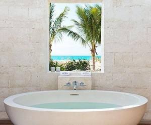 bathroom, luxury, and beach image