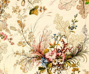 flowers, wallpaper, and illustration image