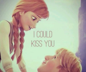 frozen and love image