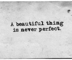 quote, perfect, and beautiful image