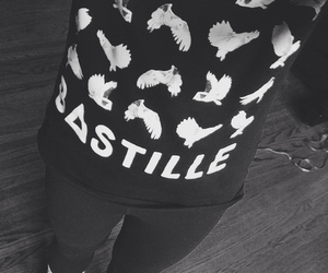 band, bastille, and clothes image