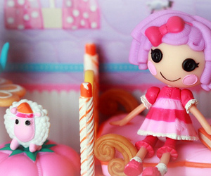 girl, doll, and doll house image