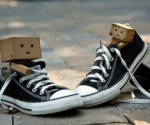 danbo, converse, and all star image
