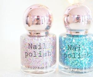 beauty, nail polish, and nails image