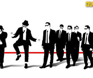 blues brothers, pop art, and reservoir dogs image
