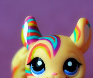 animal, rainbow, and toy image