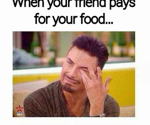 friends, funny, and food image
