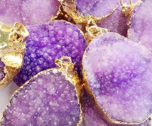 amethyst, crystals, and jewelry image