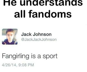 funny, jack johnson, and sport image