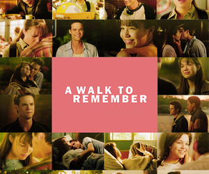 A Walk to Remember, book, and couple image