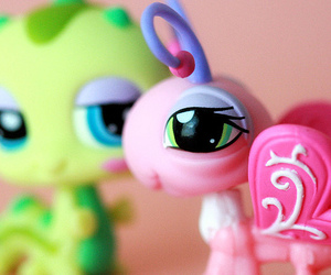 butterfly, littlest pet shop, and toys image