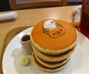 asian, pancakes, and rilakkuma image