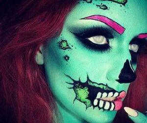 zombie and Halloween image