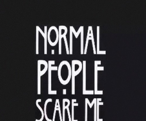 scare, ahs, and normal image