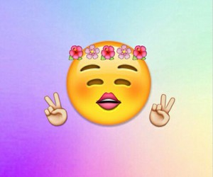 peace and emoji image