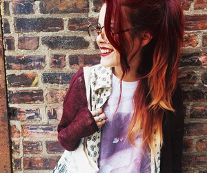 fashion, hair, and red hair image