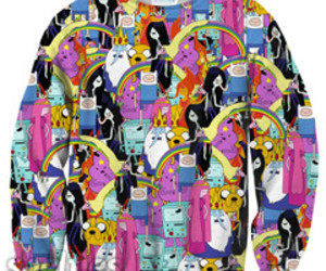 sweater and adventure time image