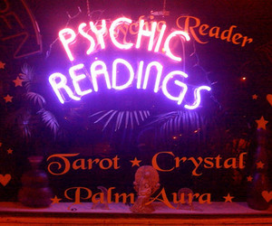 psychic, tarot, and gif image